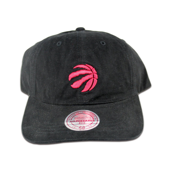 www.levels613.com Class: Mitchell & Ness Men's Dad Hat Toronto Raptors Adjustable Strapback Fabric: 100% Cotton, Woven Detail Print: Embroidered Team Logo on Front, Brand on Back Color: Black Size: OSFA Comfortable Affordable Authentic High-Quality Long Lasting All-Season Summer Fall Winter Spring Gear Urban Streetwear Men Women Unisex