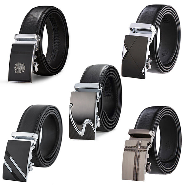 Men's Top Quality Genuine Luxury Leather Belt