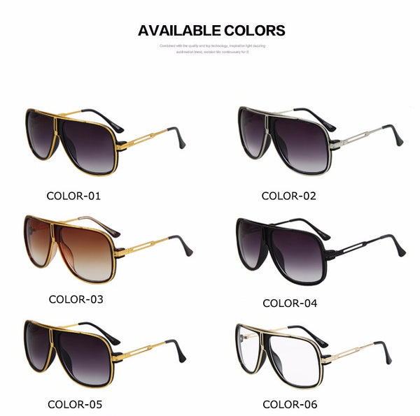 Men's Fashion Luxury Sunglasses