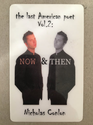 the last American poet Vol. 2: NOW & THEN     FREE E-BOOK