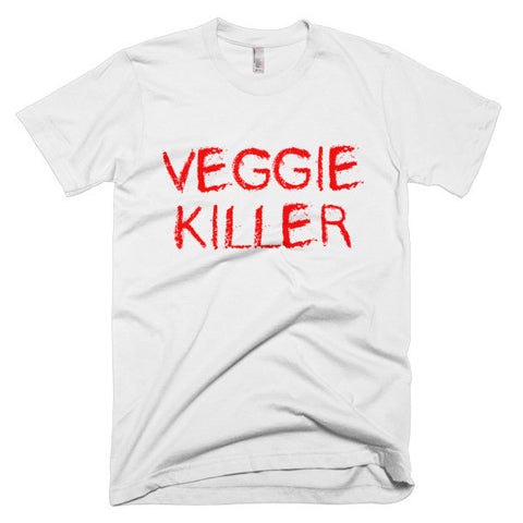 """Veggie killer"" Short sleeve men's t-shirt"