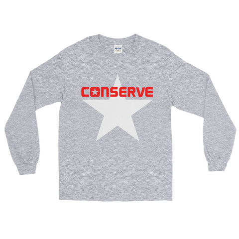 """Conserve"" Exclusive Nicknickers Long Sleeve T-Shirt"