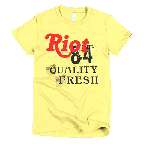 Riot Fresh Exclusive Nicknickers women's t-shirt