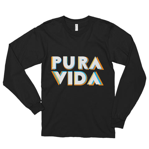 """Pura Vida"" Nicknickers Long sleeve t-shirt (unisex)"