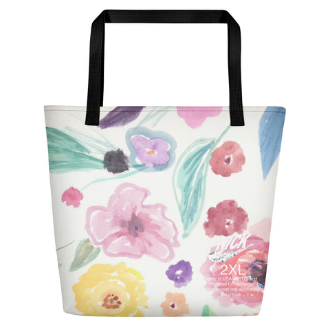 Nicknickers WALL PAPER WATER COLOR Beach Bag