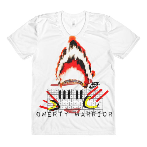 """Polyester QWERTY Warrior"" Exclusive Nicknickers t-shirt"
