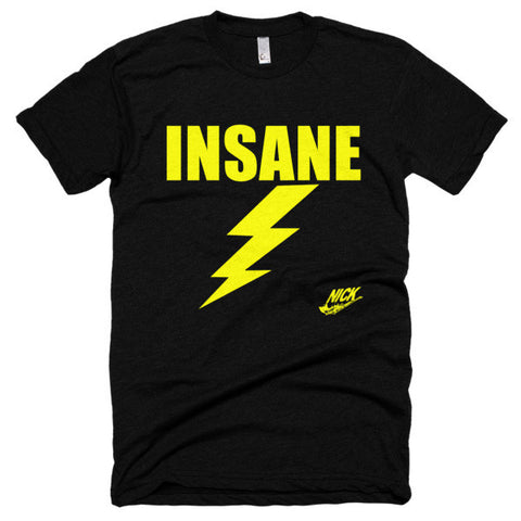 """Insane Bolt""  t-shirt"