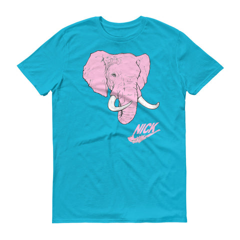 """Pink Elephants"" Exclusive Nicknickers Short sleeve t-shirt"