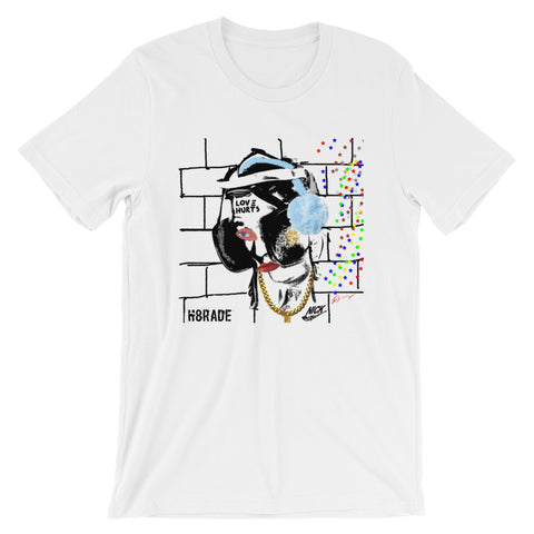 """Blinders And Earmuffs"" Unisex T-Shirt NICKNICKERS Spring 2018 Collection"