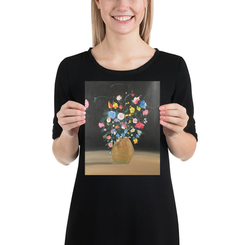 Wildflowers No. 1 (Print) Photo paper poster