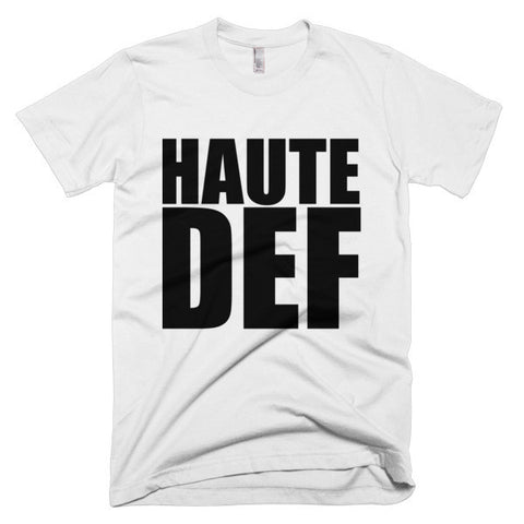 """HAUTE DEF""  Short sleeve men's t-shirt"