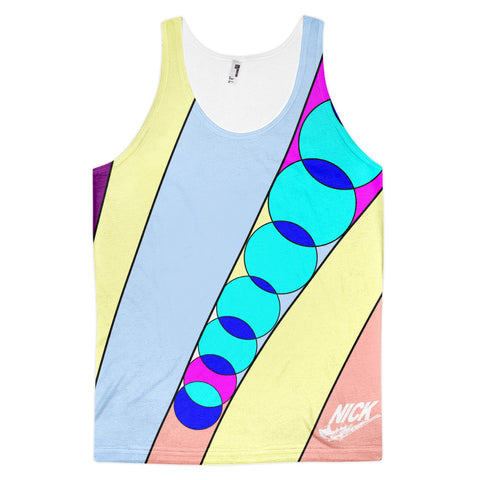 """Summer Lines 5"" Nicknickers Exclusive tank top (unisex)"