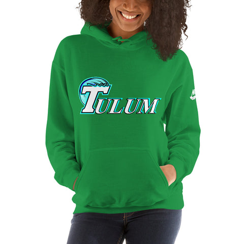 Tulum Mexican American University Nicknickers Hooded Sweatshirt