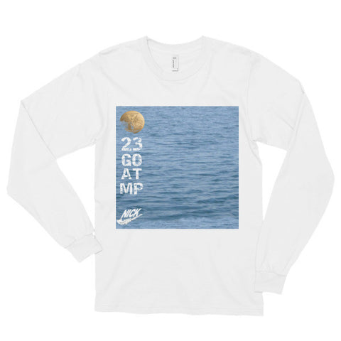"""Water GOAT"" Long sleeve t-shirt (unisex)"