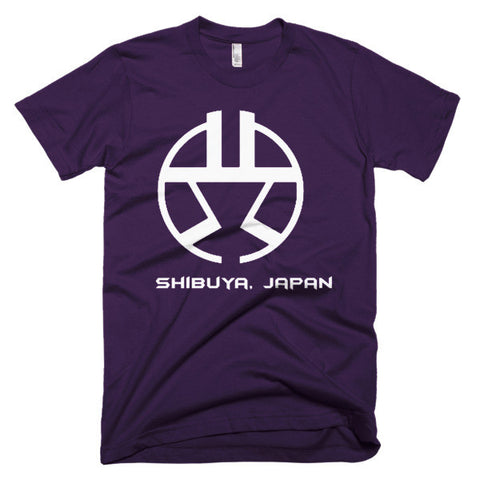"""Shibuya""  Short sleeve men's t-shirt"