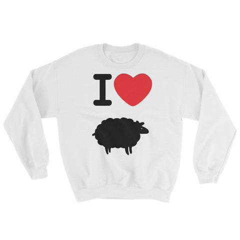 """I Love Blacksheep"" Exclusive Nicknickers Sweatshirt"
