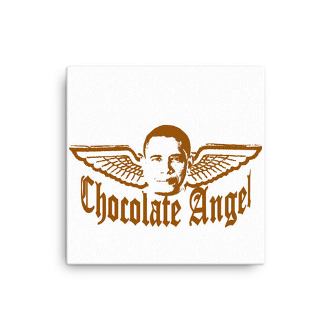 """Chocolate Angel"" Canvas"