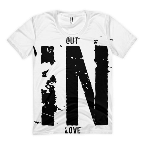 """Out IN Love"" Exclusive Nicknickers t-shirt"