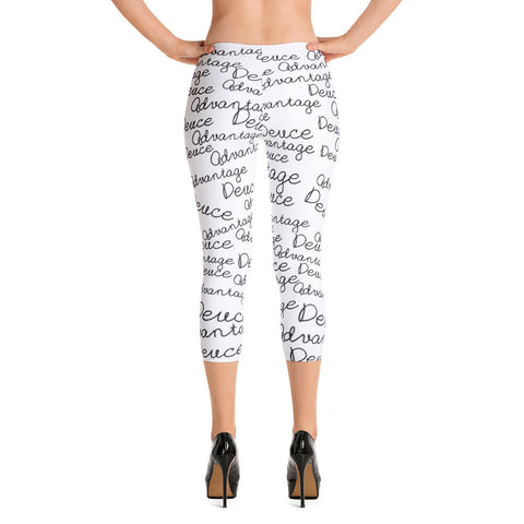 """Deuce Advantage"" Excluslive Nicknickers Capri Leggings"