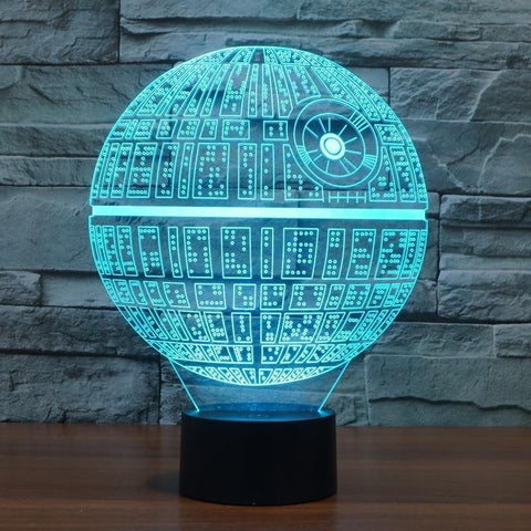 Star Wars Death Star LED Lamp