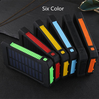Portable Rugged Solar Power Bank (15000 mAh) - Swag Factory