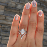 Charm Opal Wedding Ring - Swag Factory