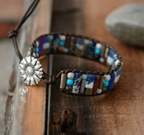 Mixed Stone Positivity Bracelet - Swag Factory