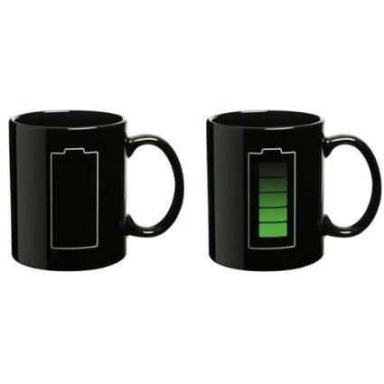 Battery Color Changing Magic Coffee Mug