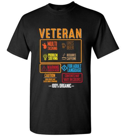 Veteran - Cool Attributes T-Shirt