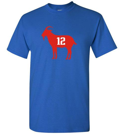 Tom Brady Goat T-Shirt - Swag Factory