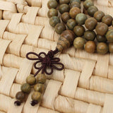 Green Sandalwood Prayer Mala