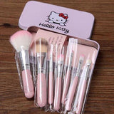 Offer - 1 x Extra Hello Kitty Makeup Brush Set (7pcs) - Swag Factory