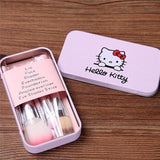 1 x Extra Hello Kitty Makeup Brush Set (7pcs) - Swag Factory