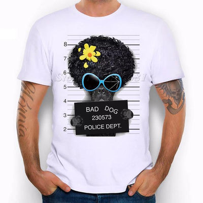Dog Mug Shot T-Shirt (Multiple Dogs) - Swag Factory