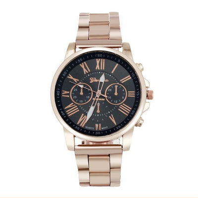 Quartz Roman Numeral Watch - Swag Factory
