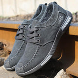 Mens Denim Casual Shoes - Swag Factory