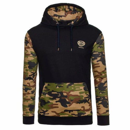 Military Camo Hoodie - Swag Factory