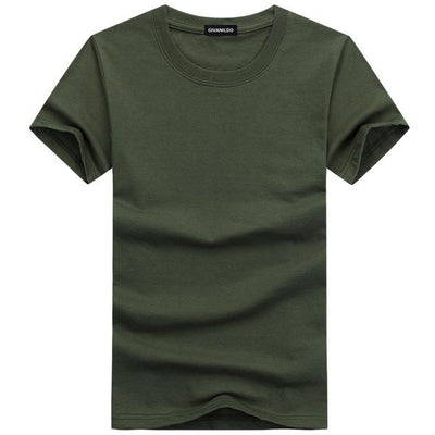 Plain Mens T-Shirt - Swag Factory