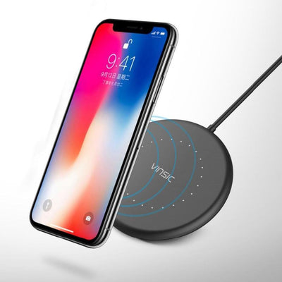 Wireless SmartPhone Charger For iPhone 8/8 Plus/X & Samsung Galaxy S6/7/8/9 - Swag Factory