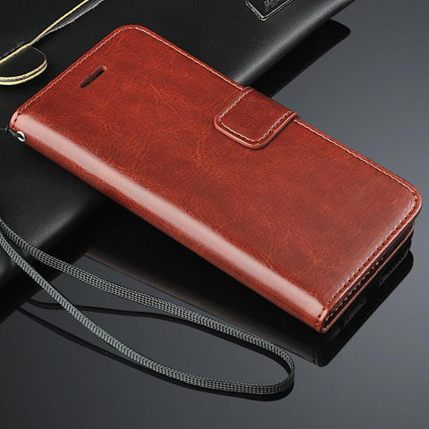Premium Leather Multipurpose Case For Apple Iphone 6/6s