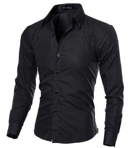 Hombre Vestir Slim Fit Mens Shirt - Swag Factory