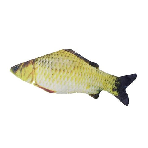 Fish Shape Stuffed Toy - Swag Factory