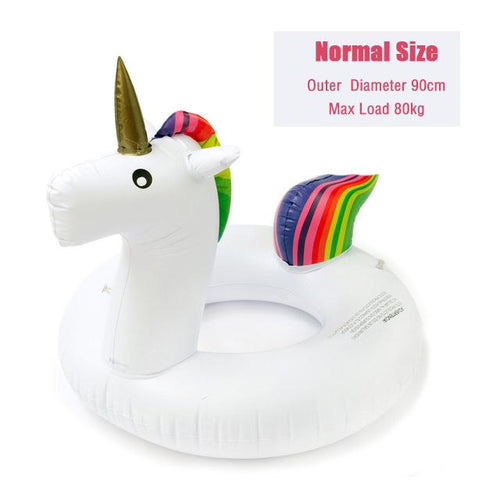 Inflatable Unicorn Pool Float - Swag Factory