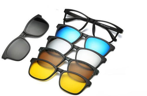 5-in-1 Replaceable Sunglasses - Swag Factory