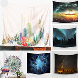 Cactus 3D Flower Art Home Wall Hanging Tapestry - Swag Factory