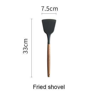 Non-Stick Silicone Heat-Resistant Spatula & Cooking Tools - Swag Factory