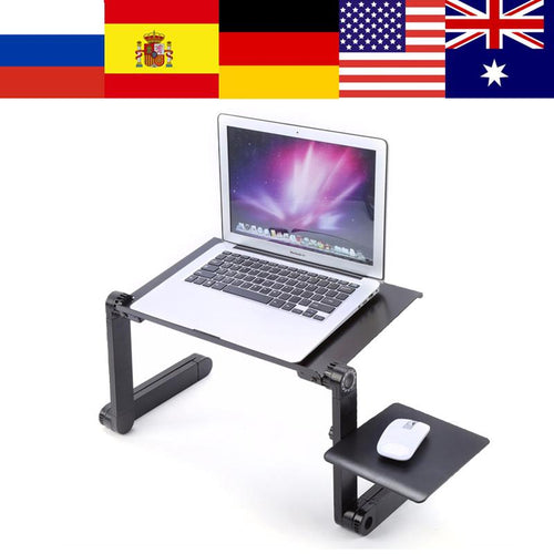 Adjustable Portable Laptop Table Stand - Swag Factory