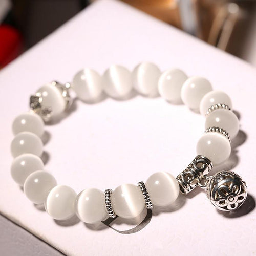Natural Opal Beads Crystal Fashion Women Bracelets - Swag Factory