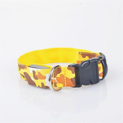 LED Anti-Lost Camouflage Dog Collar - Swag Factory