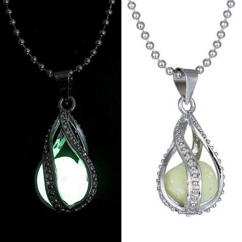 Glowing Luminous Stone Necklace